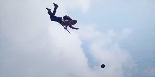Come Harry Potter: Quidditch tra paracadutisti