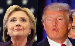 Guarda la versione ingrandita di Elezioni Usa, sondaggio: Clinton batte Trump 54 a 41