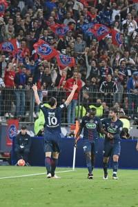 Guarda la versione ingrandita di Marsiglia-Psg 2-4, video gol highlights Coppa di Francia (foto Ansa)