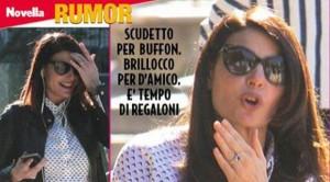 Guarda la versione ingrandita di Ilaria D'Amico, diamante nero: matrimonio con Buffon?  FOTO