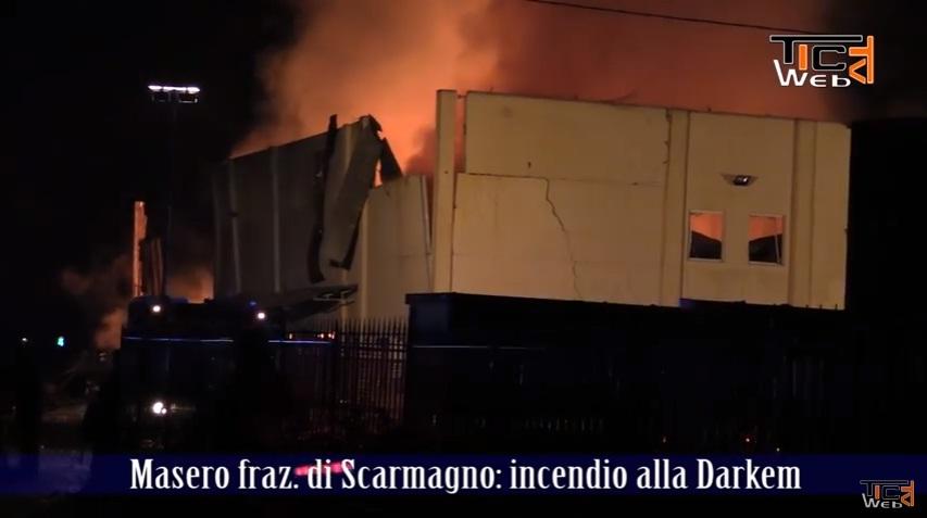 YOUTUBE Incendio in azienda chimica a Ivrea: 14 ustionati