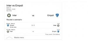 Inter-Empoli, streaming-diretta tv: dove vedere Serie A