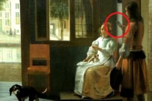 Il quadro di Pieter de Hooch