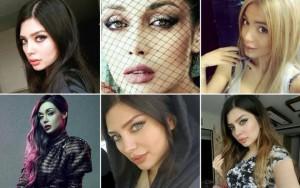 Guarda la versione ingrandita di Iran: modelle senza velo su Instagram. Arrestate in 8