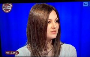 Guarda la versione ingrandita di Jessica Bertolini a Chi l'ha visto difende marito che.. (foto da video)