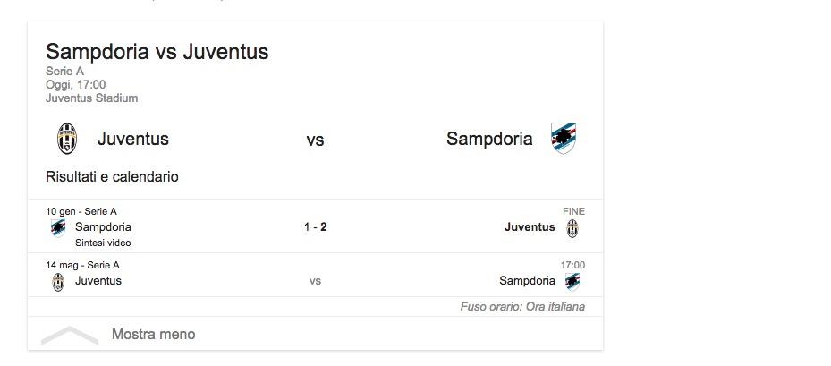 Juventus-Sampdoria, streaming-diretta tv: dove vedere Serie A_3