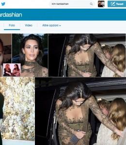Kim Kardashian: vestito trasparente, si vede tutto FOTO