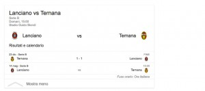 Guarda la versione ingrandita di Lanciano-Ternana, streaming-diretta tv: dove vedere Serie b