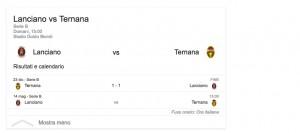 Lanciano-Ternana, streaming-diretta tv: dove vedere Serie b