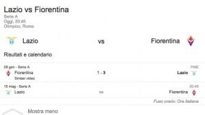 Lazio-Fiorentina, streaming-diretta tv: dove vedere Serie A_1