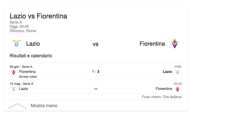 Lazio-Fiorentina, streaming-diretta tv: dove vedere Serie A_2