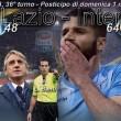 Lazio-Inter, diretta. Formazioni ufficiali e video gol