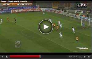 Lecce-Foggia: Sportube streaming, Telenorba diretta tv