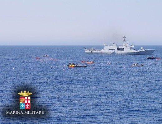 Migranti, affonda barcone Libia, 600 a bordo: ci sono morti 3