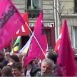 Parigi, scontri a manifestazione contro legge riforma lavoro