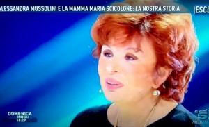 Maria Scicolone, la madre di Alessandra Mussolini