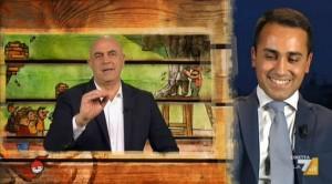 """Maurizio Crozza: """"Perché Calenda non ha giurato da Bonolis?""""3"""