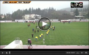 Melfi-Martina Franca Sportube streaming diretta live playout