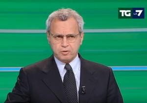YOUTUBE Enrico Mentana, servizio non parte: Ci imitano ma...