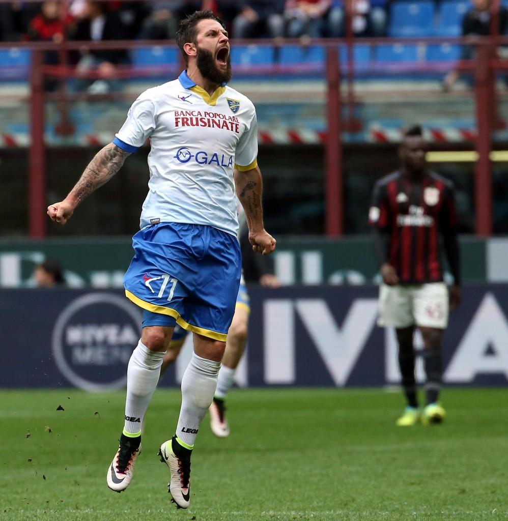 Soccer: Serie A; AC Milan-Frosinone
