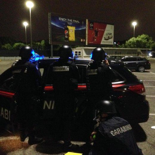 Milano: polizia anti terrorismo a stadio e metro per...FOTO3