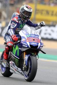 Guarda la versione ingrandita di MotoGp Le Mans: domina Lorenzo, Rossi secondo