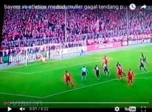 Bayern-Atletico, video: Oblak para rigore Thomas Muller