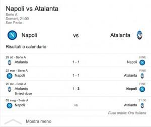 Napoli-Atalanta, streaming-diretta tv: dove vedere Serie A