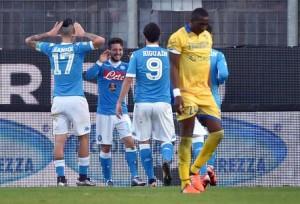 Napoli-Frosinone, formazioni ufficiali e video gol