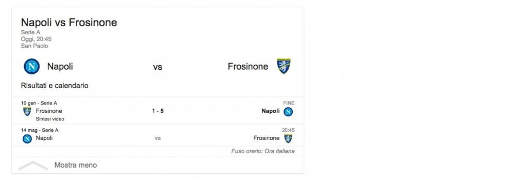 Napoli-Frosinone, streaming-diretta tv: dove vedere Serie A_3