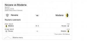 Novara-Modena, streaming-diretta tv: dove vedere Serie B