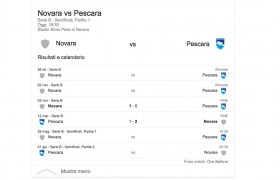 Novara-Pescara, streaming e diretta tv: dove vedere Serie B