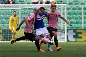 Guarda la versione ingrandita di Palermo-Sampdoria 2-0, aggancio Carpi. FOTO-VIDEO GOL