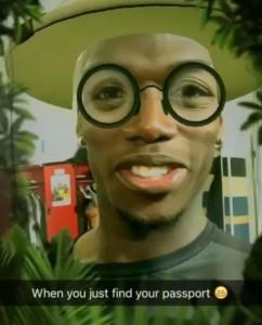 Paul Pogba: video per ritrovamento del passaporto
