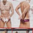 Federica Pellegrini - Filippo Magnini, doccia e mani...FOTO2