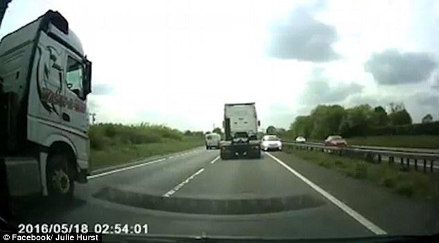 Pensionata contromano sull'autostrada britannica