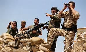 Guarda la versione ingrandita di Miliziani Peshmerga