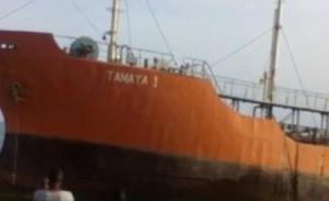 Tamaya, petroliera spiaggiata in Liberia. Mistero equipaggio