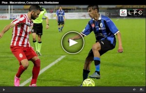 Pisa-Maceratese Sportube: streaming diretta live playoff