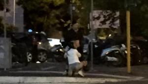 Roma, atti osceni in mezzo alla strada. FOTO indigna il web