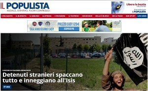 """""""Il Populista"""" di Salvini: tra Islam """"senza freni"""" e trash"""