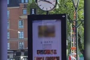 YOUTUBE Porno alla fermata del bus: burla hacker in Svezia