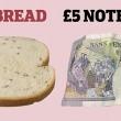 Dieta, porzioni esatte: banconota di pane, pallina di pasta 5