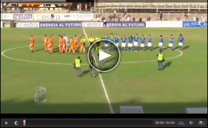 Prato-Lupa Roma Sportube: streaming diretta live playout