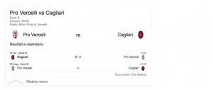 Pro Vercelli-Cagliari, streaming-diretta tv: dove vedere Serie B