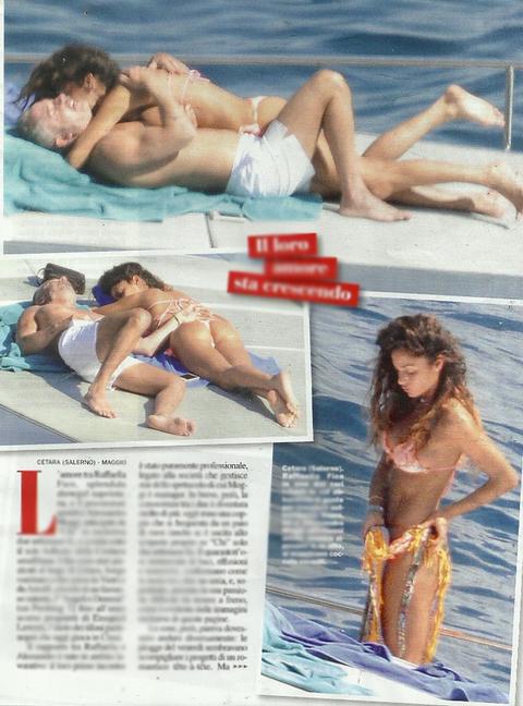 Raffaella Fico e Alessandro Moggi: vacanza bollente FOTO2