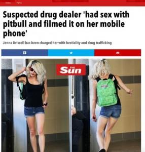 Sesso col suo pitbull: ragazza aveva 3 video su smartphone