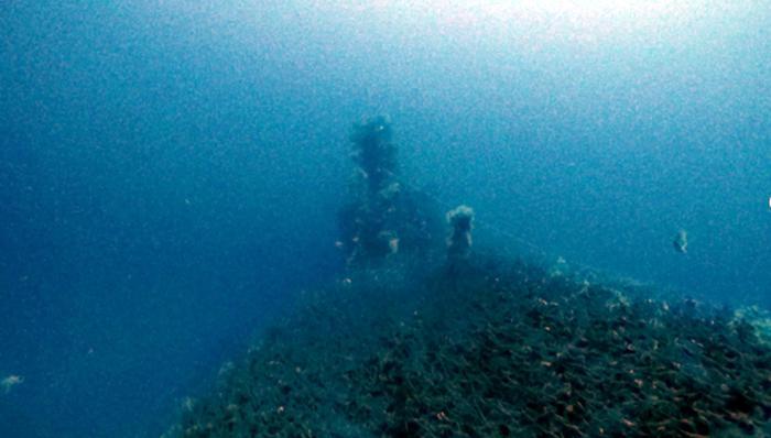 Relitto sommergibile inglese trovato su fondale Tavolara
