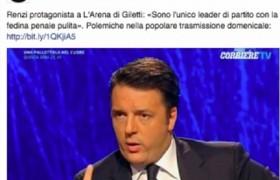 """Renzi, epic fail Corriere della Sera: foto e tag """"cogl…"""""""
