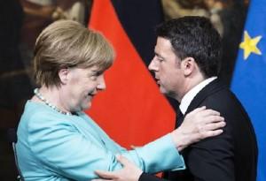 Renzi-Merkel asse contro Austria su migranti. Ma eurobond...